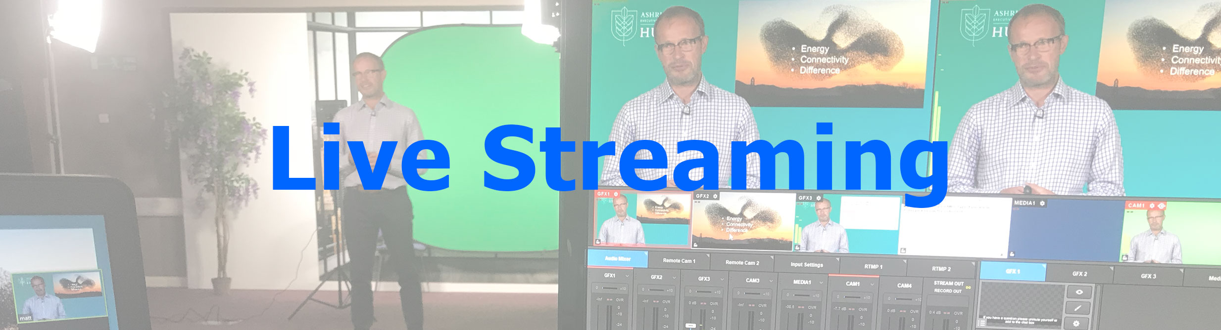 Live Streaming Square Pixel Productions
